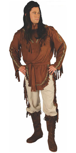 Indian Chief Costume for Men