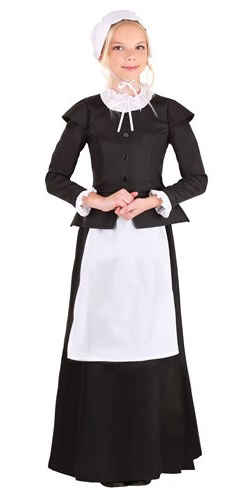 Traditional Pilgrim Girl Dress Costume