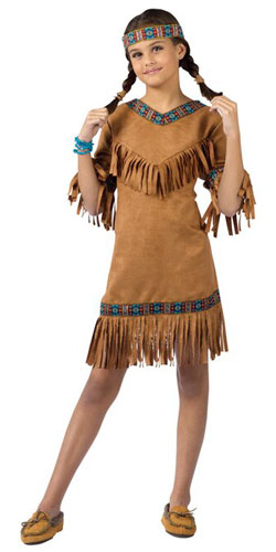 Native American Indian Girl Costumes for Sale