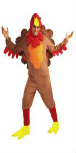 thanksgiving turkey mascot costumes for sale