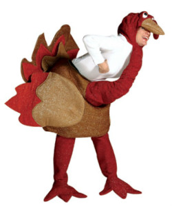 Adult Men or Women Turkey Halloween Costume