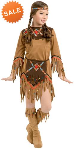 Native American Indian Girl Dress