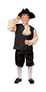 Colonial Boy Costume Sale