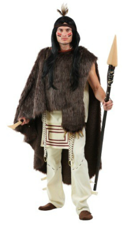 Men's Deluxe Native American Chief Costume