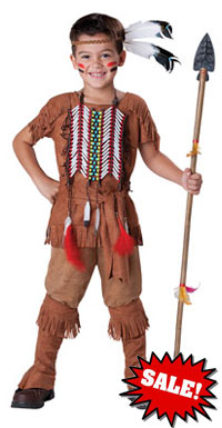 Super Deluxe Indian Brave Costume