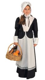 Economy Pilgrim Girl Costume