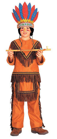Kids Native American Boy Indian Costume