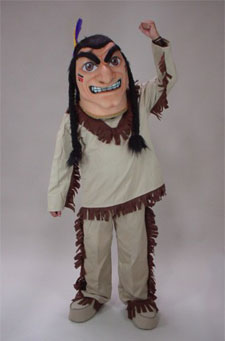 Indian Brave Mascot Costume Halloween Sale