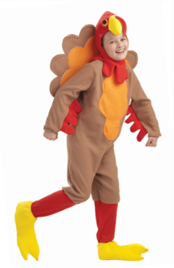 Child Turkey Costume for Kids