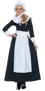 Pilgrim Woman Dress Costumes for Sale