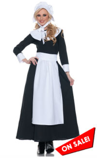 Pilgrim Lady Costume