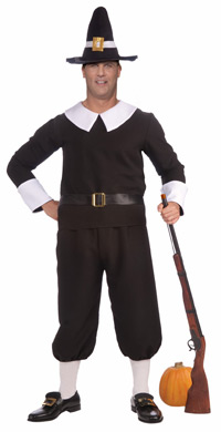Plus Size Pilgrim Man Costume