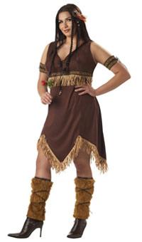 Plus Size Indian Dress