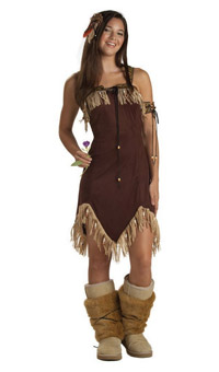 Teen Indian Princess Dress