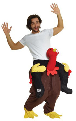Turkey Piggyback Costume