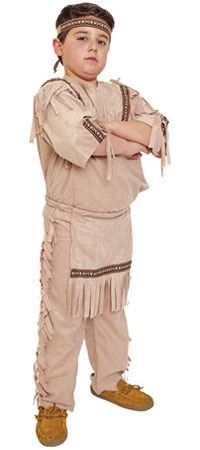 Child Native American Costume for Boys