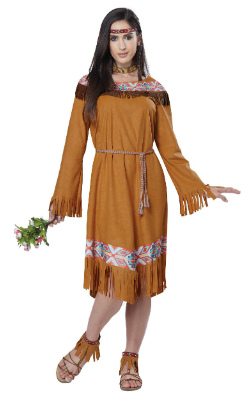 Women's Native American Indian Costume